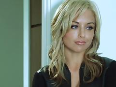 Kayden Kross deepthroats a cock and jumps on it ardently tube porn video