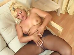 Milf in tights 9 tube porn video