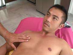 Sensual oil massage tube porn video