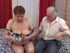 Chubby mature bitch Iris gets her hairy cunt pounded deep tube porn video