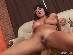 Anissa Kate and Tony Carrera fucking hardcore after BJ tube porn video