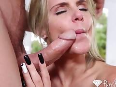 HD - PureMature Phoenix Marie deep creampie tube porn video