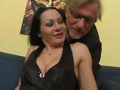 Sandra Romain Takes Cock And Toys In Ass Before Getting Cum In Mouth tube porn video