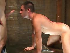 Gay couple enjoying BDSM porn tube porn video
