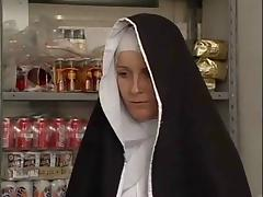 Hot Bodied Nun Gets Fondled By Perverted Old Man ! tube porn video