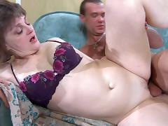 StunningMatures Video: Leonora and Herbert tube porn video