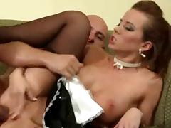 Cindy Dollar Black Stockings Maid Sex tube porn video
