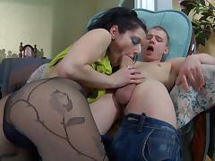 PantyhoseTales Movie: Inessa and Steve tube porn video