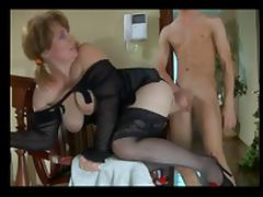 Milf in Lingerie with Not Her Son BVR tube porn video