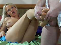 NylonFeetVideos Clip: Dolly and Rolf tube porn video