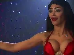 Hot Egyptian Belly dancer tube porn video
