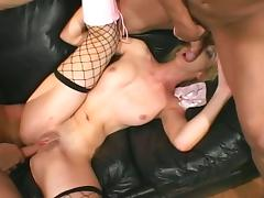 Double ass drilling for kelly wells tube porn video