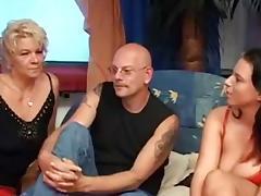 Good Mature & Milf German Threesome tube porn video