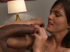 His cock is as big as her forearm and he fucks her well with it tube porn video