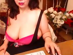 sexy mature on cam tube porn video