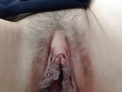 Big Pussy Lips -  Blonde Mature tube porn video
