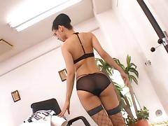 Maria Ozawa Hot Japanese doll is a horny secretary tube porn video