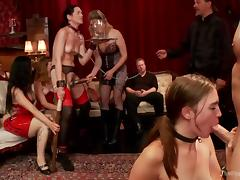 jodi and sarah perform at john strong's sex party tube porn video