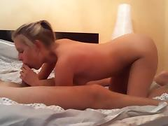 Enjoyable hotty copulates in this lengthy homemade sex tape tube porn video