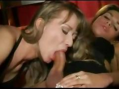 Shemale gets dick sucked and sucks dick tube porn video