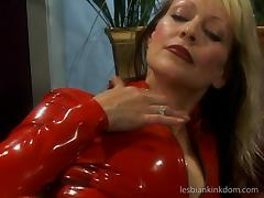 Corn cob, latex, two mature lesbians, need we say more ? tube porn video