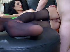 NylonFeetVideos Clip: Cora and Rolf tube porn video