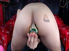 Asian Amateur Bottle And Fisting tube porn video