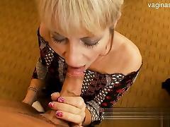 Busty gf brutal gagging tube porn video