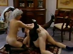 Young guy banging tow grannies in a threesome tube porn video