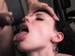 Softcore pleasure in gym for Janie Jones tube porn video