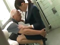 Japanese Grandpa having fun with young girls part 1 tube porn video
