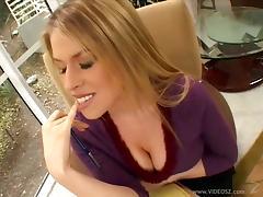 Hardcore interracial anal sex after nasty tit-job along cute Daphne Rosen tube porn video