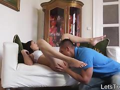 Tight amateur girlfriend anal screwed and caught on cam tube porn video
