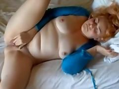 Webcam BBW in a nasty homemade masterbation action tube porn video