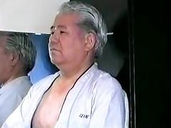 Japanese old man tube porn video