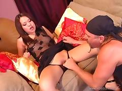 Hot and wild asian porn sweetheart Kammy gets fucked in nasty and hot orgasm tube porn video