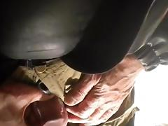 nlboots - smokin' and playing (that stomach..!) tube porn video