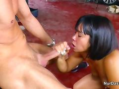 German Fuck Thai Whore Without Condom at Work tube porn video