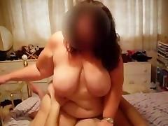 1fuckdatecom Brit bbw fingered and fucked tube porn video