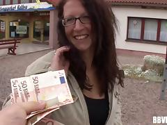 Desperate times make this pretty redhead fuck for money tube porn video