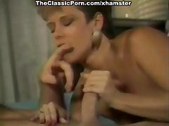 Leslie Winston, Melanie Scott, Peter North in vintage porn tube porn video
