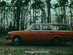 Old+Young Hardcore in Car (1970s Vintage) tube porn video