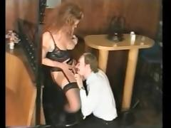 Group sex with several nice German mature women in stockings tube porn video