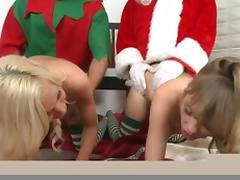 Kacey Jordan, Nicole Ray, Ramon Nomar, Jordan Ash in Deck the balls Video tube porn video