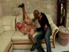 Big Chested Ethnic Grandma Takes Thick Swarthy Cock tube porn video
