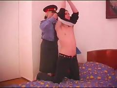 Blonde cop is in need of a thorough pussy pounding tube porn video