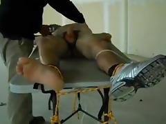 Twenty y.o. tied tickled and milking tube porn video