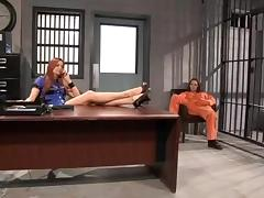 Jayden Cole and Dani Daniels jailhouse fuck tube porn video