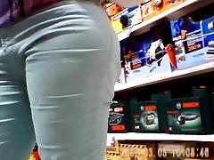 Cameltoe and tight pants tube porn video