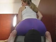 Purple farts tube porn video